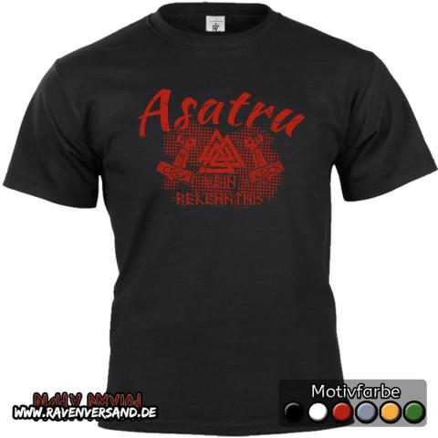 Asatru T-shirt schwarz