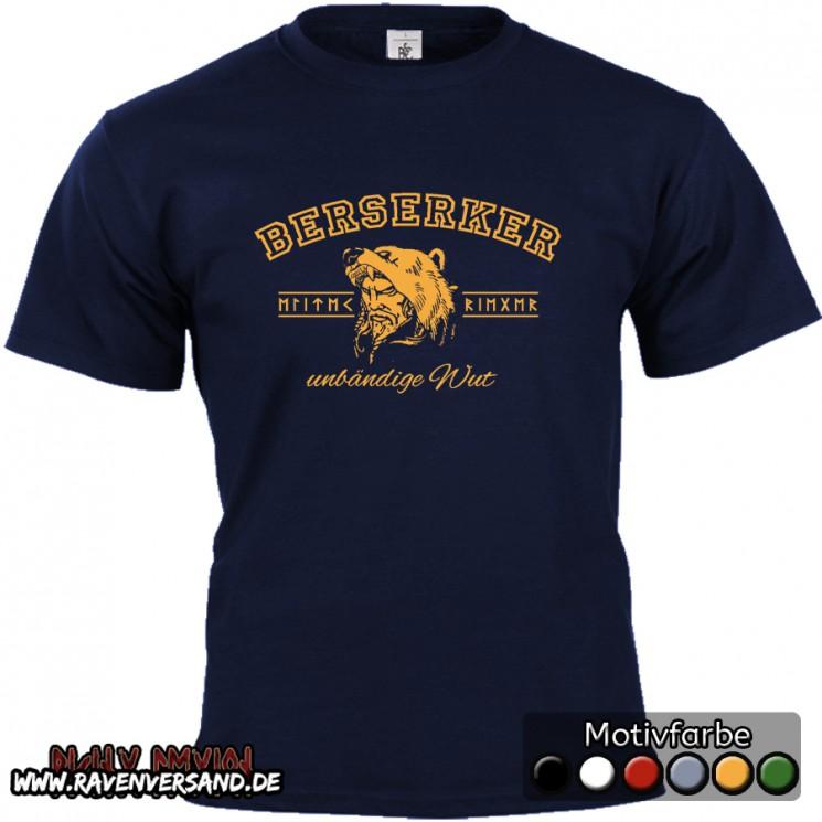 Berserker T-shirt blau