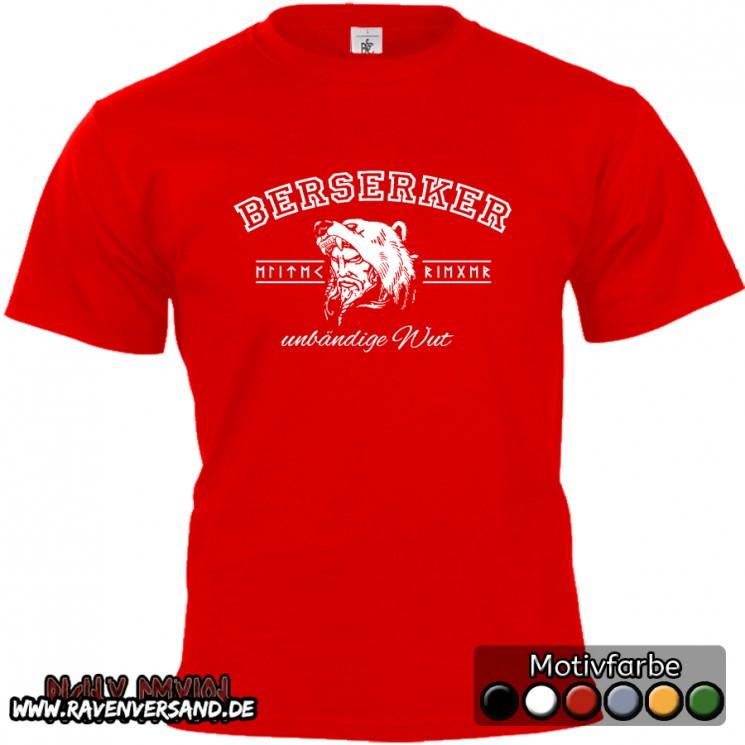 Berserker T-shirt rot