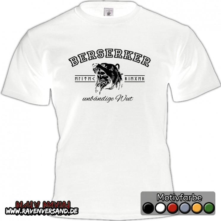 Berserker T-shirt weiss