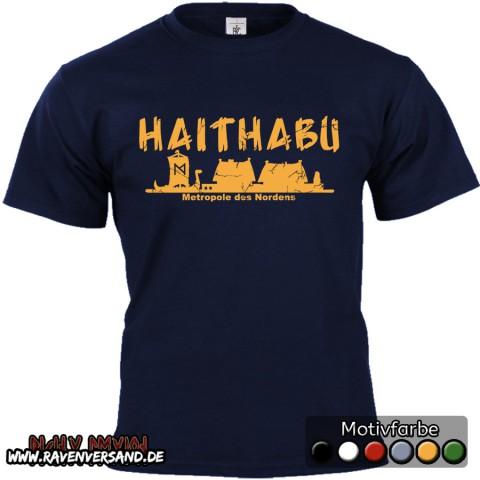 Haithabu T-shirt blau
