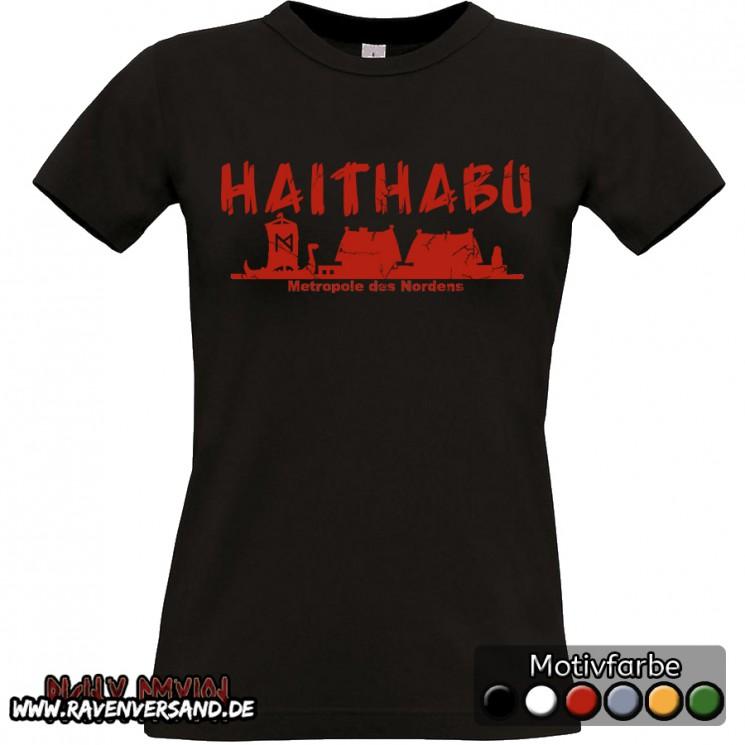 Haithabu T-shirt schwarz Frauen