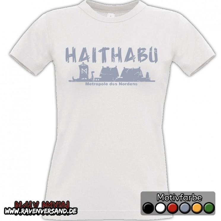 Haithabu T-shirt weiss Frauen