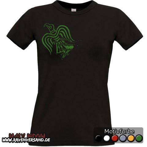 Hugin T-shirt schwarz Frauen