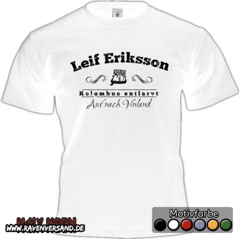 Leif Eriksson T-shirt weiss