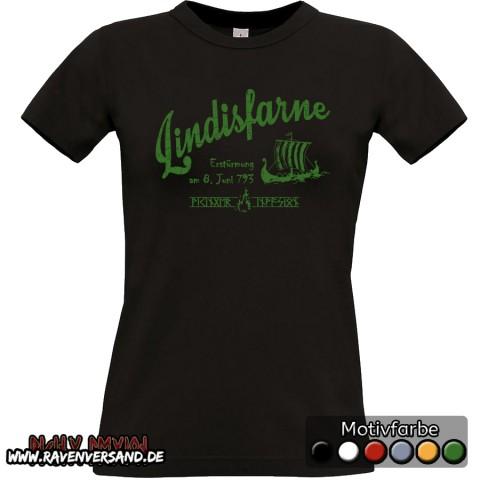 Lindisfarne T-shirt schwarz Frauen