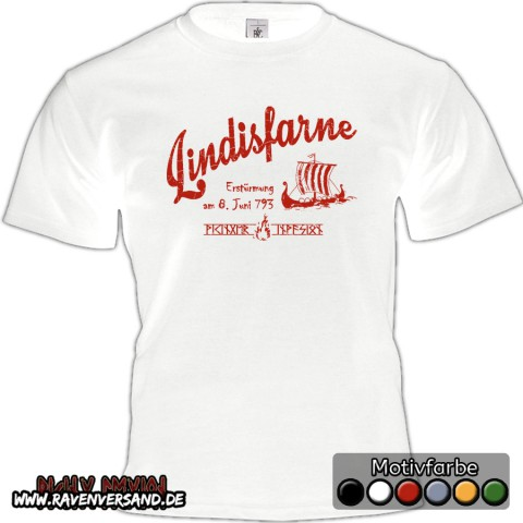 Lindisfarne T-shirt weiss