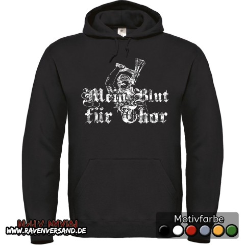 Mein Blut für Thor Kapuzenpullover