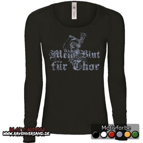 Mein Blut für Thor Pullover Frauen