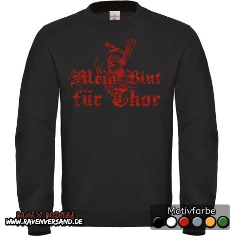 Mein Blut für Thor Pullover Männer