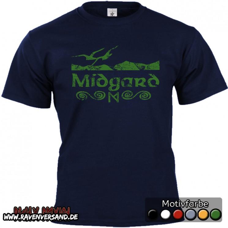Midgard T-shirt blau