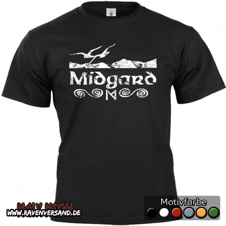 Midgard T-shirt schwarz