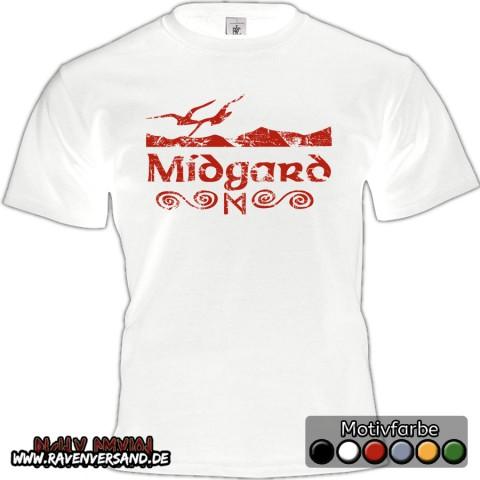 Midgard T-shirt weiss