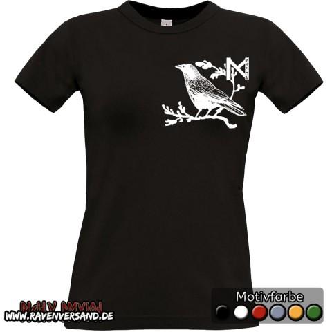 Munin T-shirt schwarz Frauen