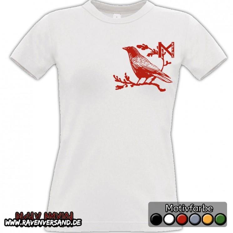 Munin T-shirt weiss Frauen
