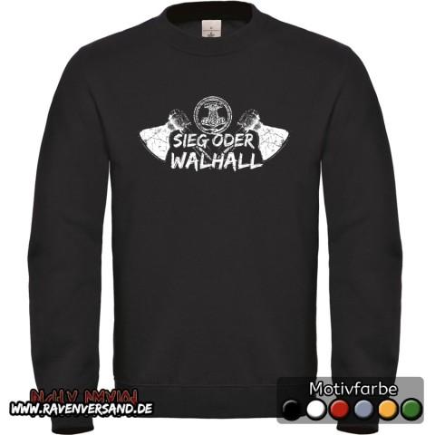 Sieg oder Walhall Pullover Männer