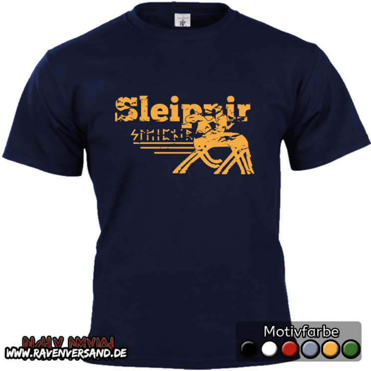 Sleipnir T-shirt blau