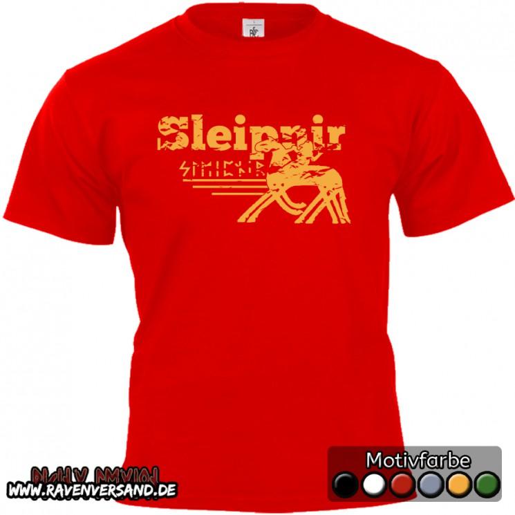Sleipnir T-shirt rot
