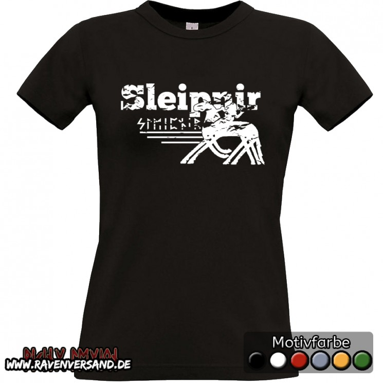 Sleipnir T-shirt schwarz Frauen