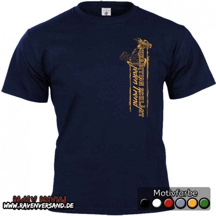 Tradition T-shirt blau