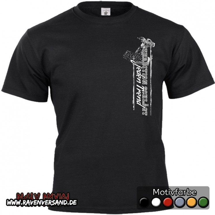Tradition T-shirt schwarz