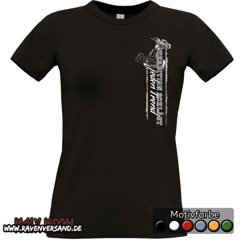 Tradition T-shirt schwarz Frauen