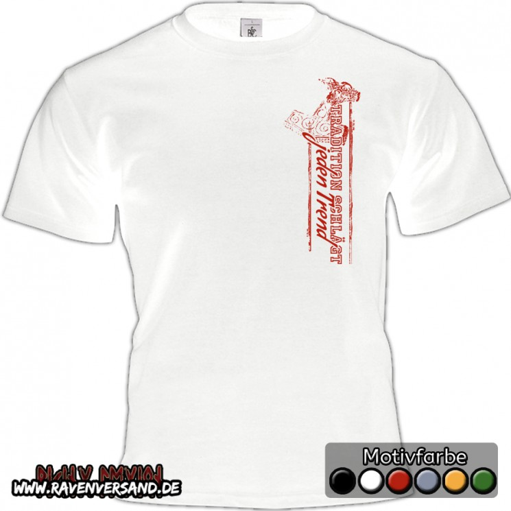 Tradition T-shirt weiss