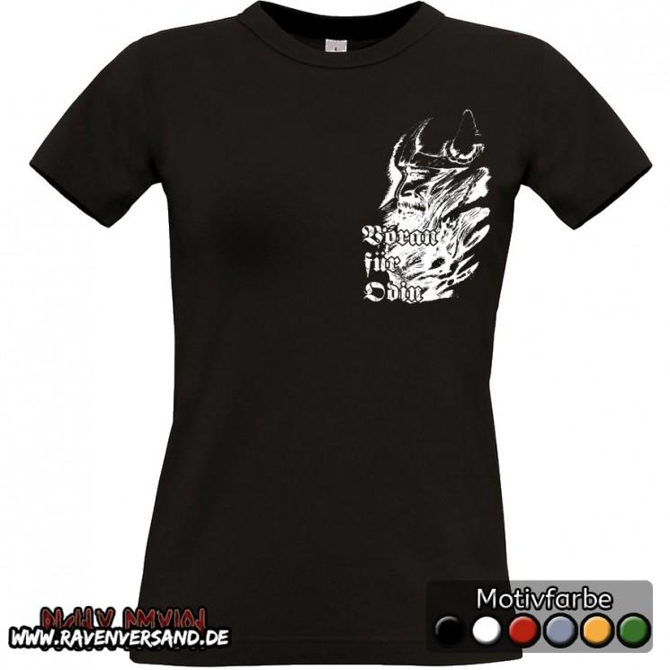 Voran für Odin T-shirt schwarz Frauen