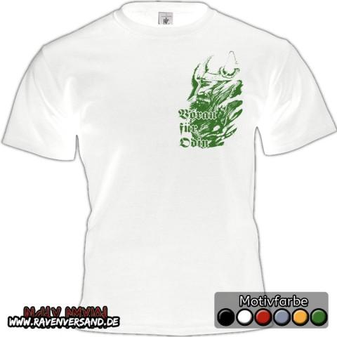 Voran für Odin T-shirt weiss