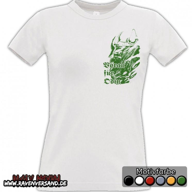 Voran für Odin T-shirt weiss Frauen