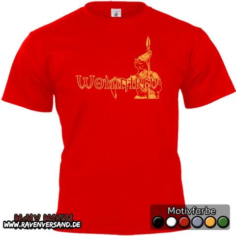 Wotantreu T-shirt rot
