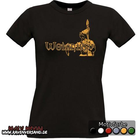 Wotantreu T-shirt schwarz Frauen