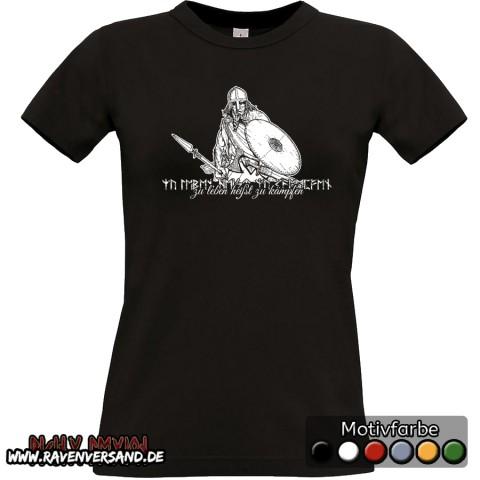 zu leben T-shirt schwarz Frauen