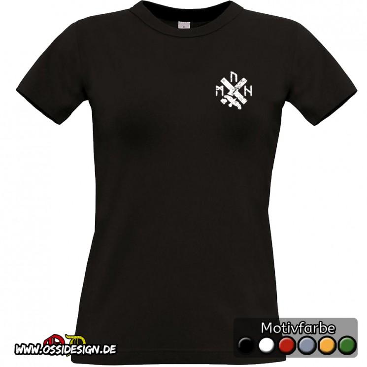 T-shirt schwarz Frauen