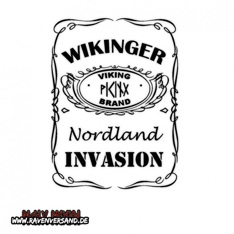 Wikinger Invasion Motiv