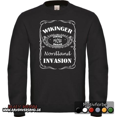 Wikinger Invasion Pullover Männer