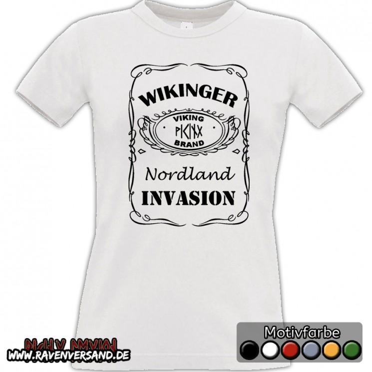 Wikinger Invasion T-shirt weiss Frauen