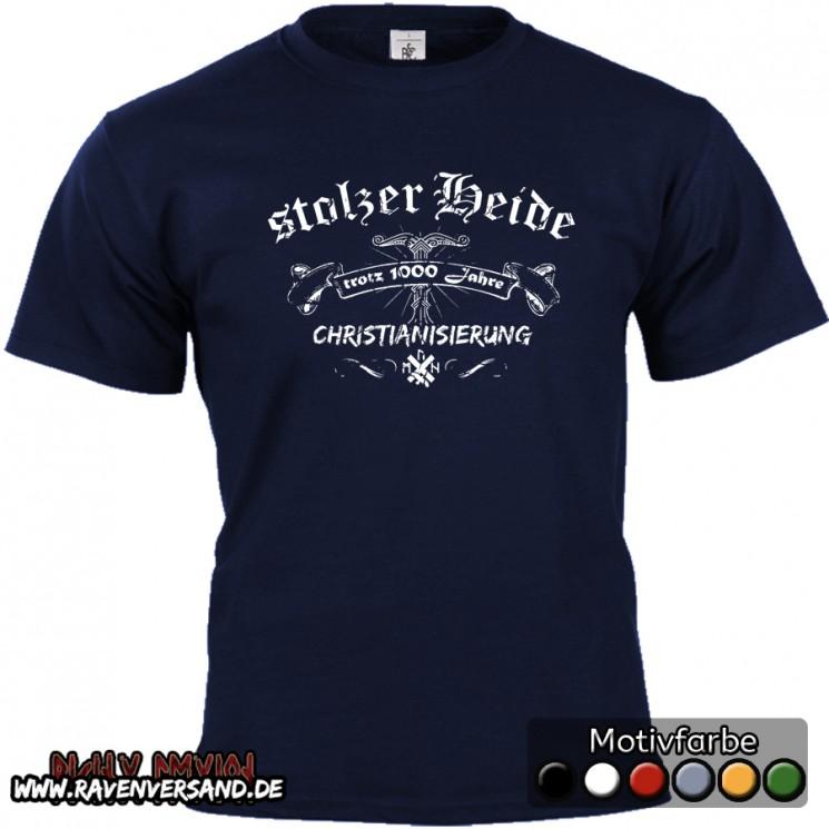 stolzer Heide T-shirt blau