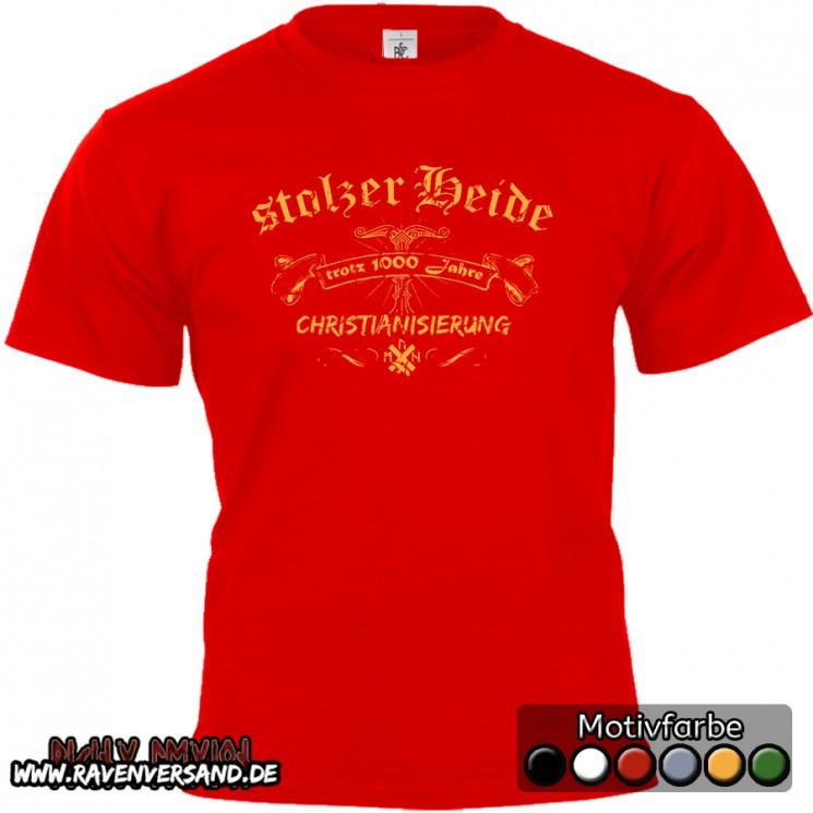 stolzer Heide T-shirt rot