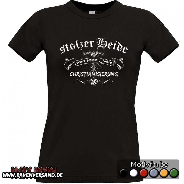 stolzer Heide T-shirt schwarz Frauen