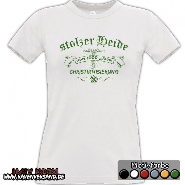 stolzer Heide T-shirt weiss Frauen