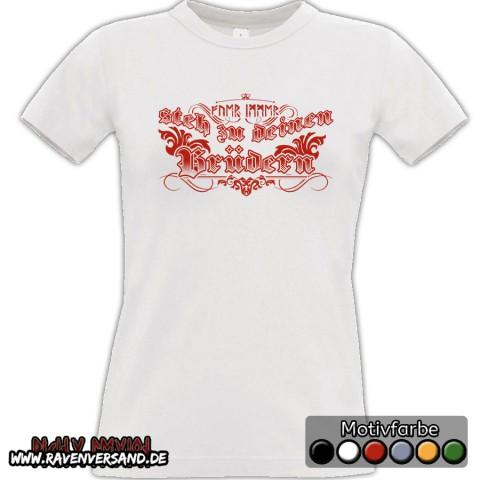 Brüder T-shirt weiss Frauen