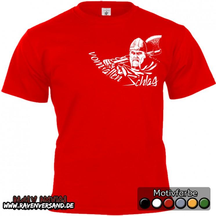 vom alten Schlag T-shirt rot