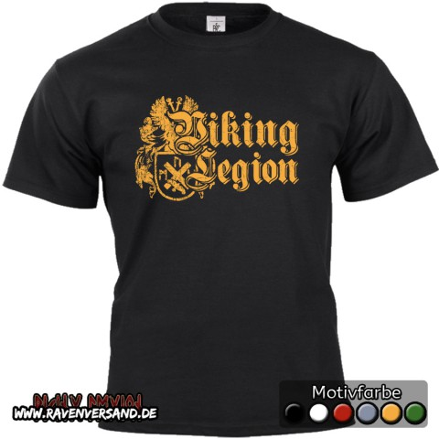 Viking Legion T-shirt schwarz