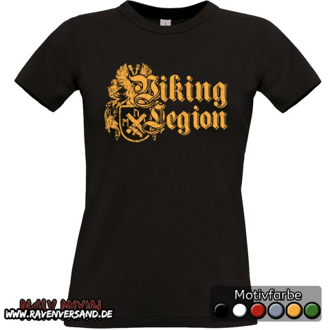Viking Legion T-shirt schwarz Frauen