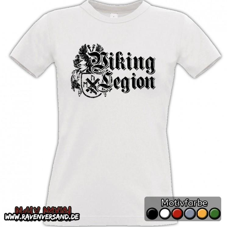 Viking Legion T-shirt weiss Frauen