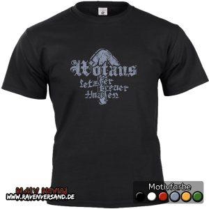Wotans letzter treuer Haufen T-shirt schwarz