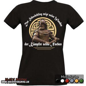 krieger-t-shirt-schwarz-frauen-hinten