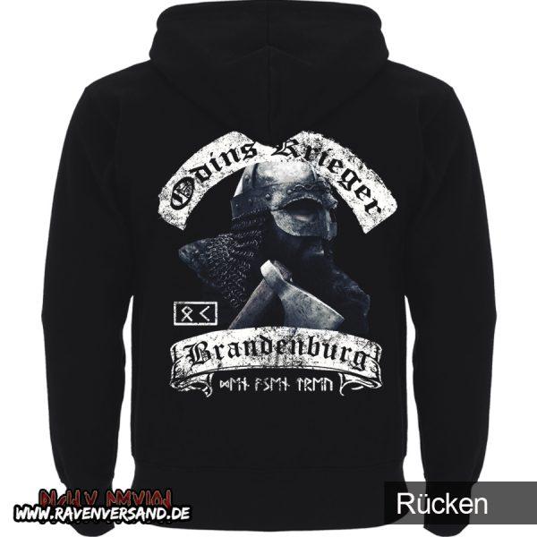 Odins Krieger Jacke Rücken