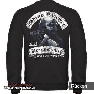Odins Krieger Pullover Männer Rücken